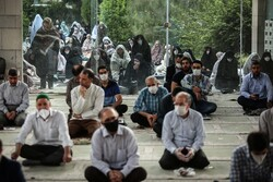 Eid al-Fitr prayers in Tehran University