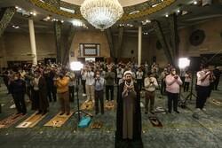 نماز عیدسعید فطر در دانشگاه تهران