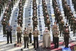 برگزاری نماز عید فطر در دانشگاه افسری امام علی(ع)