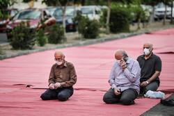 اکباتان سٹی میں نماز عید فطر کی ادائیگي