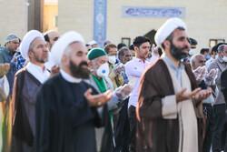 اقامة صلاة عيد الفطر السعيد في مختلف انحاء البلاد