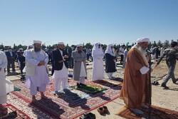 İran'daki Ramazan Bayramı namzından görüntüler