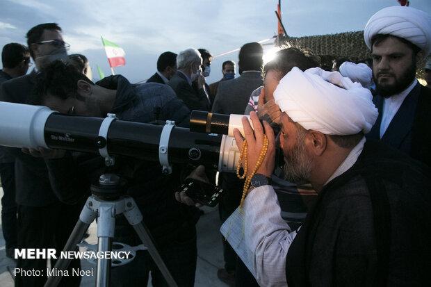 استهلال ماه شوال در تبریز