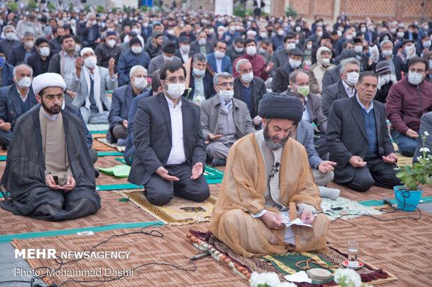 Erdebil'de Ramazan Bayramı namazı