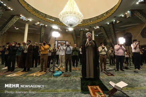 Eid al-Fitr prayers marked in Tehran University