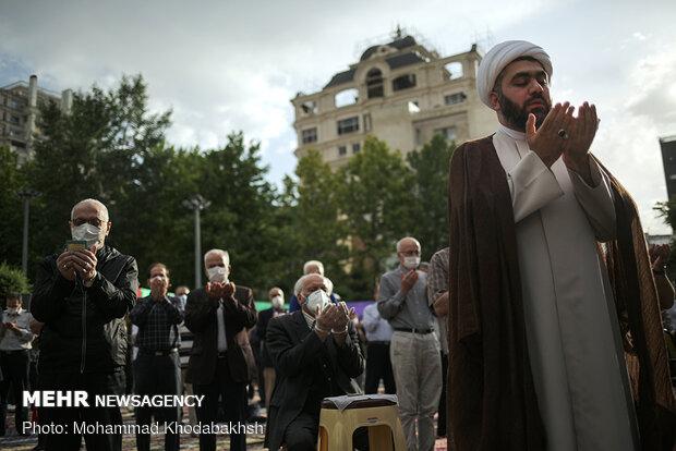 صلاة العيد تقام في مساجد مدينة قم