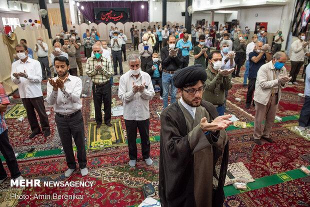 Şiraz'daki Bayram namazından fotoğraflar