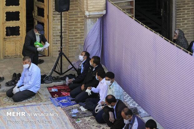 اقامه نماز عید فطر درچالش تر