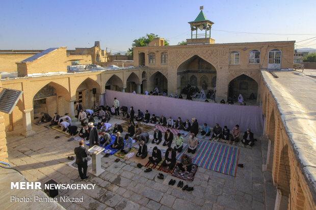 نماز عید فطر در ۸ بقعه متبرکه البرز اقامه میشود