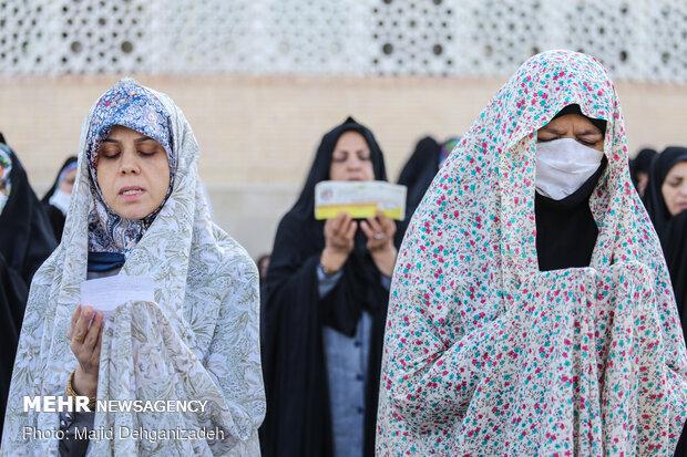 اقامه نماز عید سعید فطر در یزد