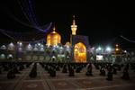 İmam Rıza'nın (a.s) kutsal türbesi ziyaretçiye açıldı