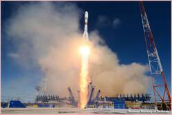 روسیه ماهواره نظامی به مدار زمین فرستاد