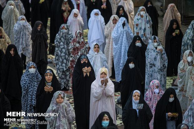 اقامة صلاة عيد الفطر في مختلف انحاء ايران