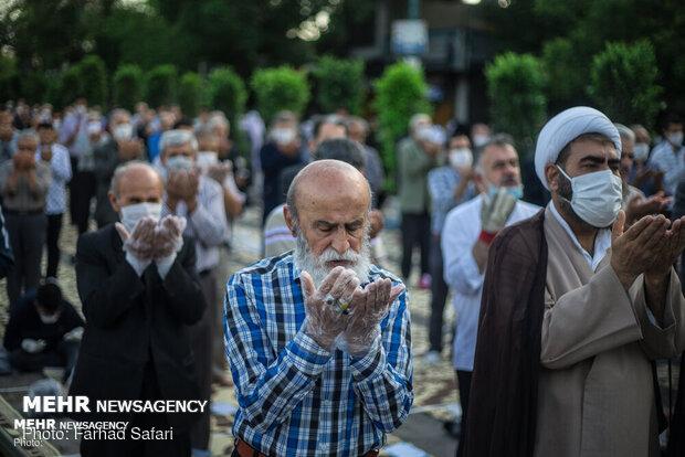 اقامه نماز عید سعید فطر درقزوین