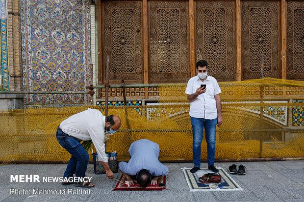 بازگشایی درب های حرم حضرت عبدالعظیم حسنی (ع)