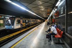 ساعت کار مترو تهران تا ۱۲ شب افزایش یافت