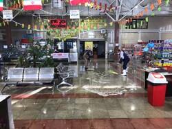 ۲۴۵ میدان و بازار میوه و تره بار ضد عفونی و نظافت شدند
