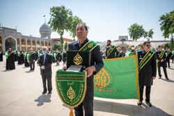 شیراز میں حرم حضرت شاہچراغ کو کھولنے کی تقریب
