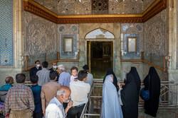 شیراز میں حرم حضرت شاہچراغ کھلنے کا پہلا دن