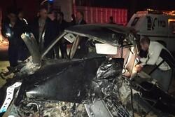 حادثه رانندگی در مهاباد ۶ زخمی برجا گذاشت
