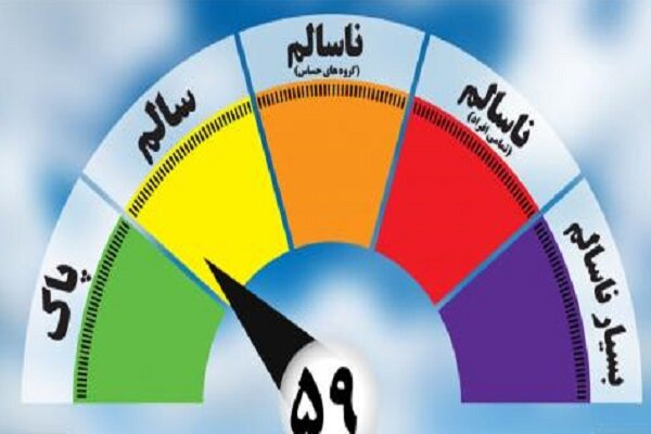 غلظت آلایندهها در هوای امروز مشهد افزایش یافته است