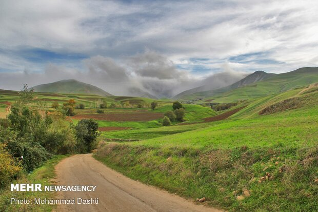 Picturesque views in Moghan Plateau