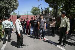 پولیس نے اتابک محلہ میں 12 جرائم پیشہ افراد کو گرفتار کرلیا