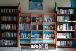 تاسیس کتابخانه «شهید خرازی» در یک روستای محروم