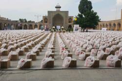 شکوه کمک های مومنانه در مسجدالنبی قزوین به تصویر کشیده شد