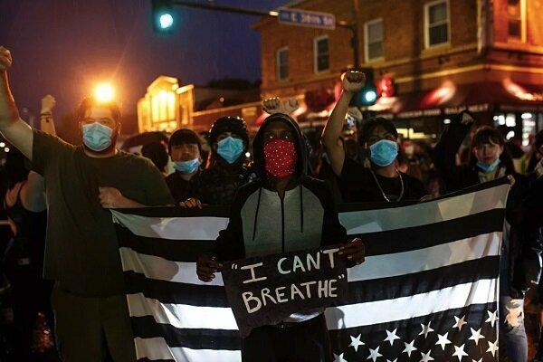 شهروند آمریکایی در محل اعتراضات علیه پلیس جان خود را از دست داد
