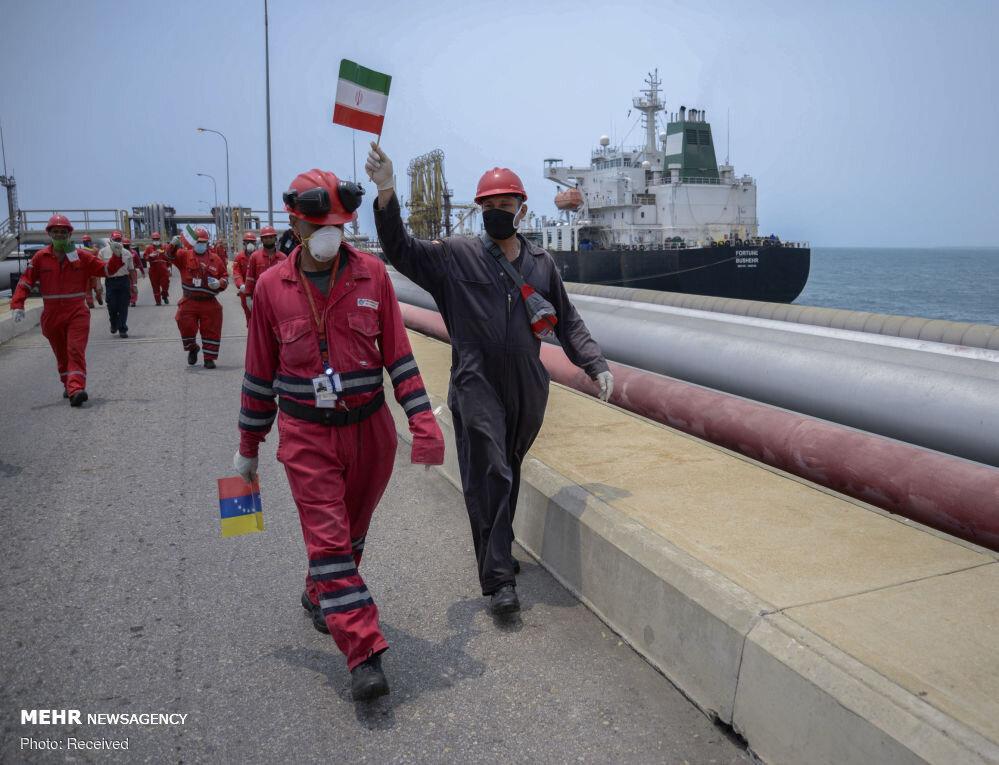 تداوم اعزام نفتکش های ایرانی به ونزوئلا و چالشی جدید برای ترامپ