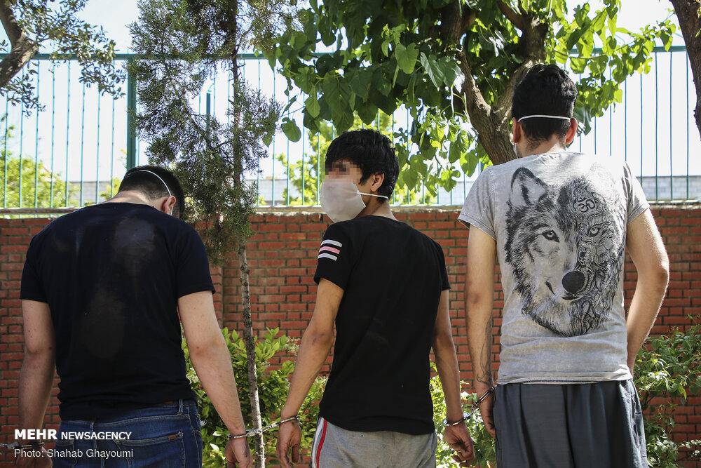 ۱۲ نفر اراذل و اوباش در تبریز دستگیر شدند