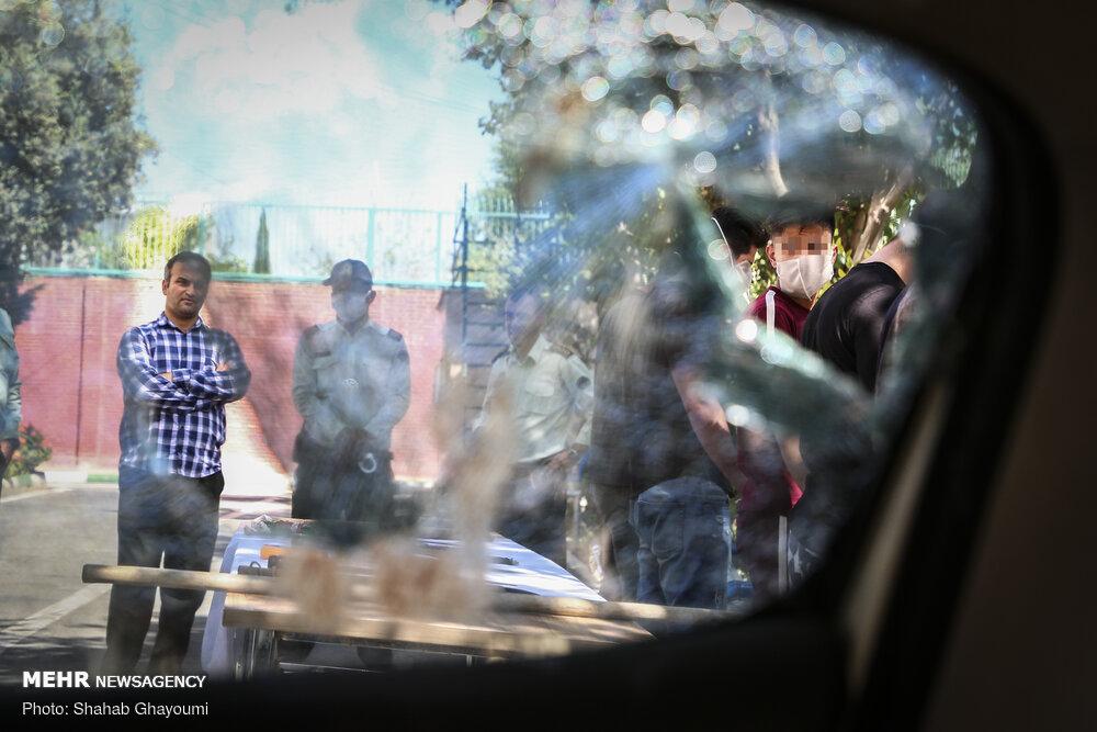 دستگیری اراذل و اوباش محله اتابک