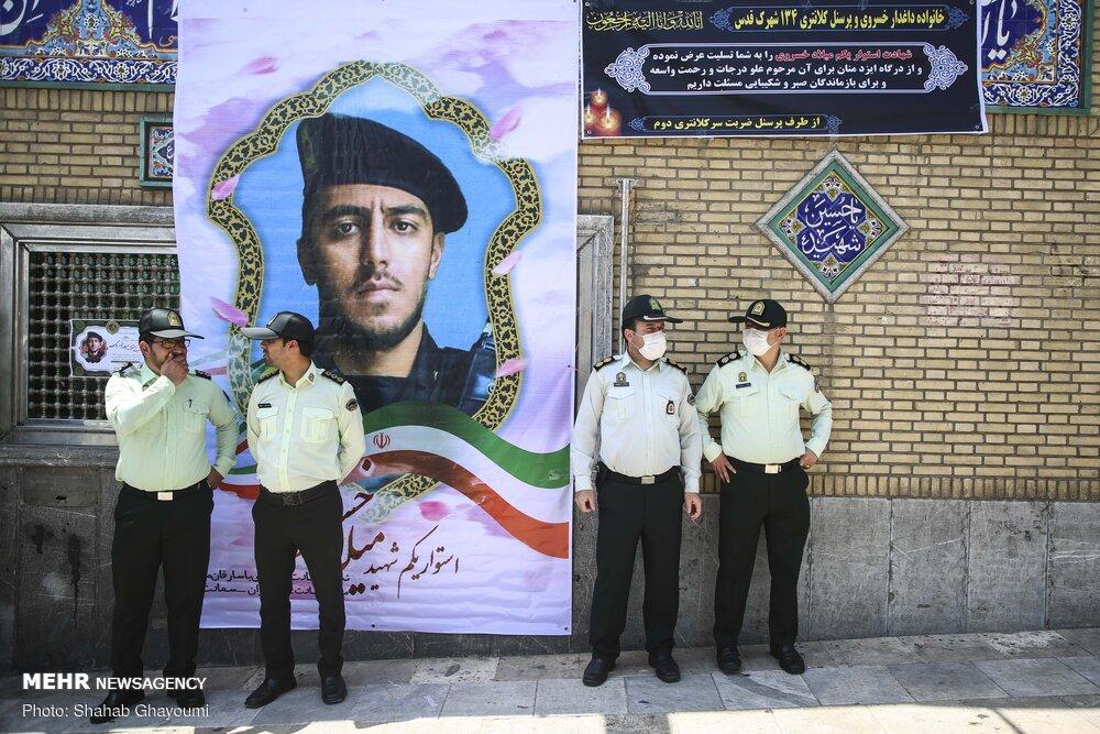 تغییر نام خیابانی به نام «شهید میلاد خسروی» در پایتخت