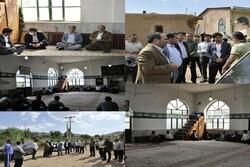 عملیات اجرایی بهسازی راه روستای «هلدر» آغاز شد