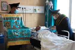 قدردانی خادمین مسجد جمکران از مدافعان سلامت