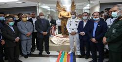 تندیس «فرشته مهر» مدافعان سلامت رونمایی شد