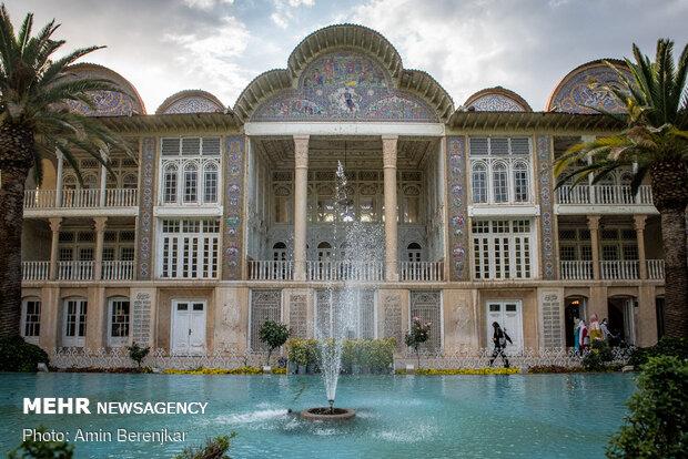 Şiraz'da Narencistan- i Kavam Müzesi ve Eram Bahçesi yeniden açıldı