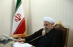 روحاني: أمن العراق من أمننا/ نعارض أي تدخل خارجي في الشؤون الداخلية للعراق