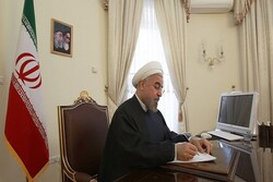 Rouhani congratulates Croatia on national day