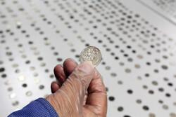 ۲۸ عدد سکه دوره ساسانی در رودبار کشف شد