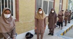 توزیع ۱۳۴ هزار ماسک بهداشتی در حوزه های امتحانی دانش آموزان