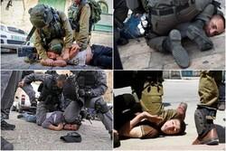 شباهت برخورد وحشیانه پلیس آمریکا با حمله صهیونیستها به فلسطینیها