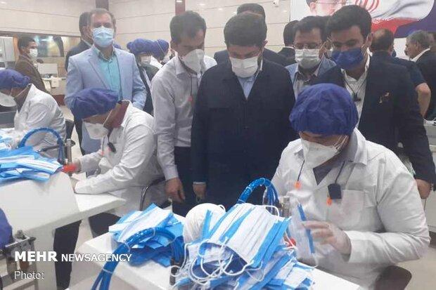 خوزستان در تولید ماسک خودکفا شد