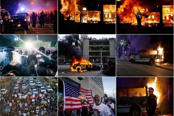 Anti-racism protests turned US into battlefield