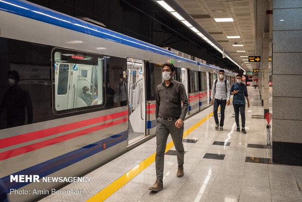 آغاز فعالیت ناوگان مترو شیراز