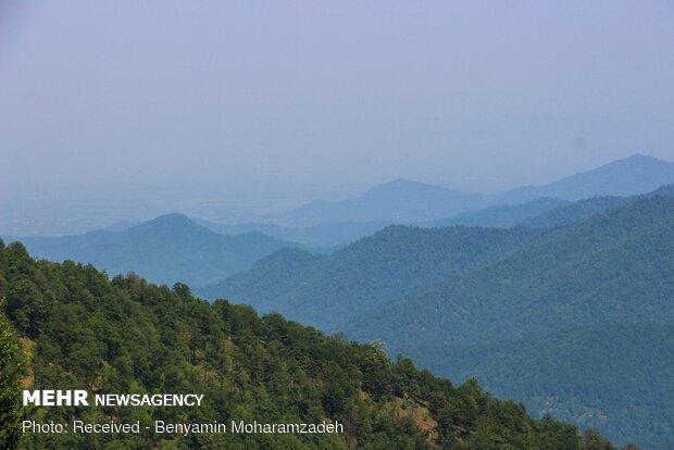 Heights of 'Trishum Peak' in Masuleh with breathtaking views