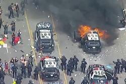 امریکہ میں سیاہ فام شخص کی ہلاکت کے بعد پر تشدد مظاہروں کا سلسلہ جاری