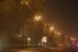 طوفان و گرد و غبار لامرد را فراگرفت