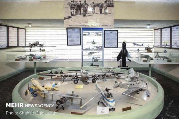 آئین افتتاحیه موزه هوانوردی و پژوهشکده دفاع مقدس